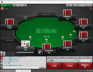 BetOnline Poker Software