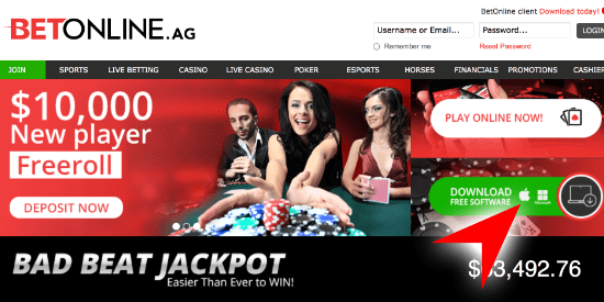 BetOnline Poker Mac Download